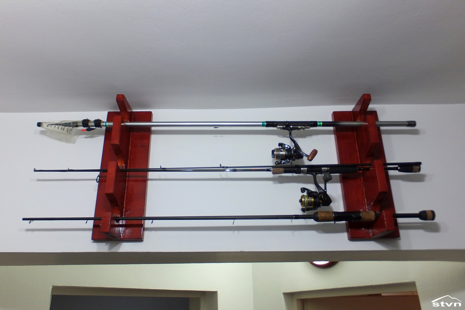 Fishing rod storage rack best storage design 2017 for How to store fishing rods