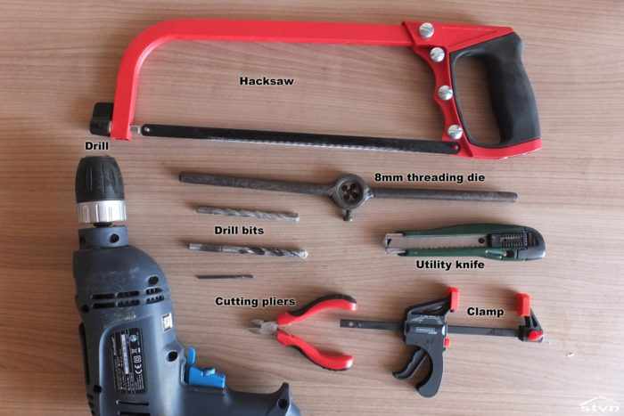 Tools for the Replaceable Firesteel